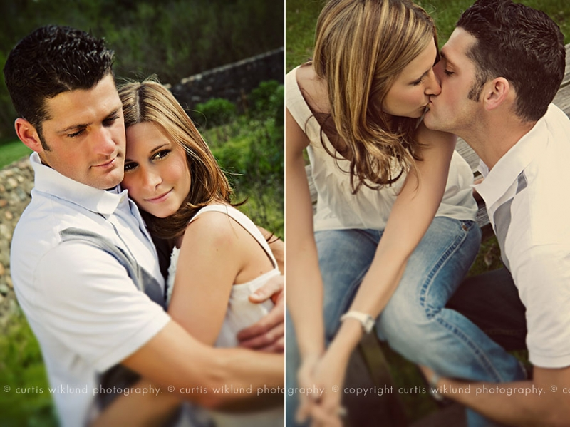 creative outdoor engagement photographers