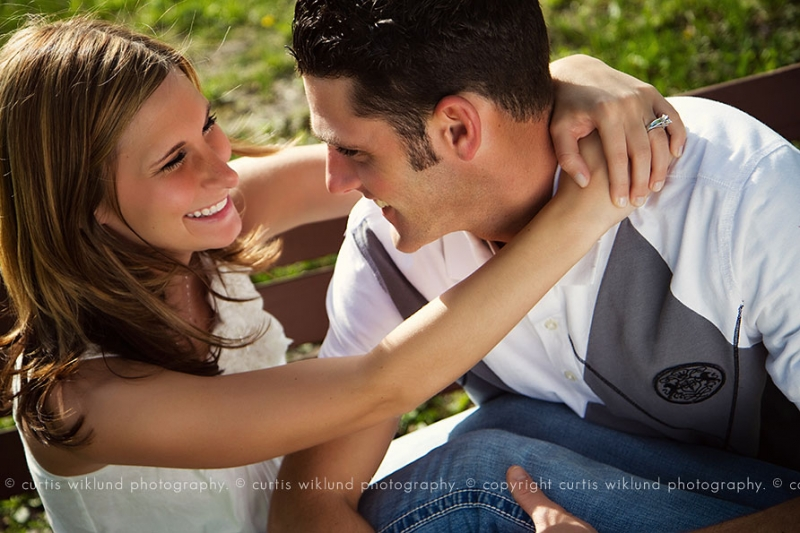 best outdoor engagement photography in michigan