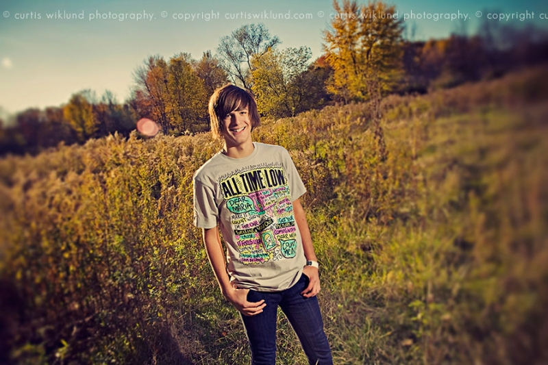 outdoor michigan senior pictures