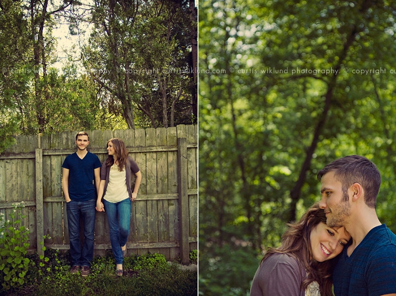 hipster engagement photography in michigan
