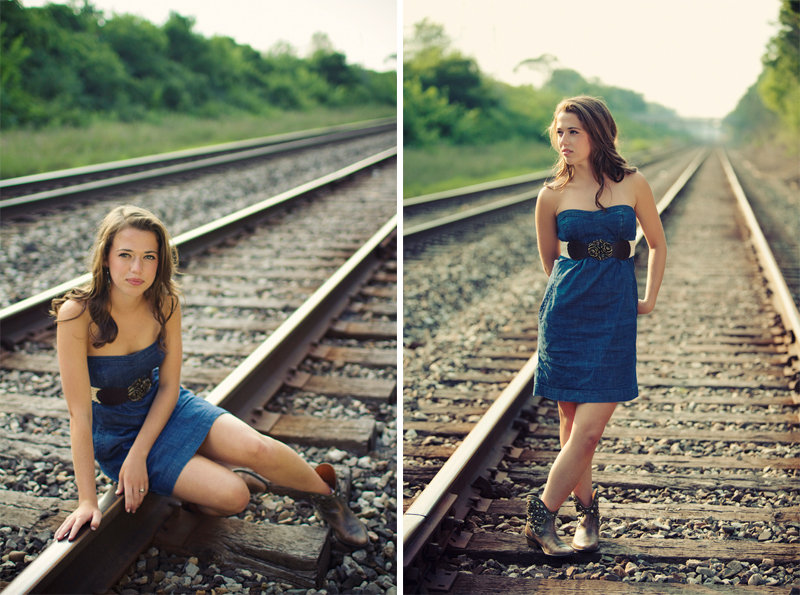 best railroad senior pictures