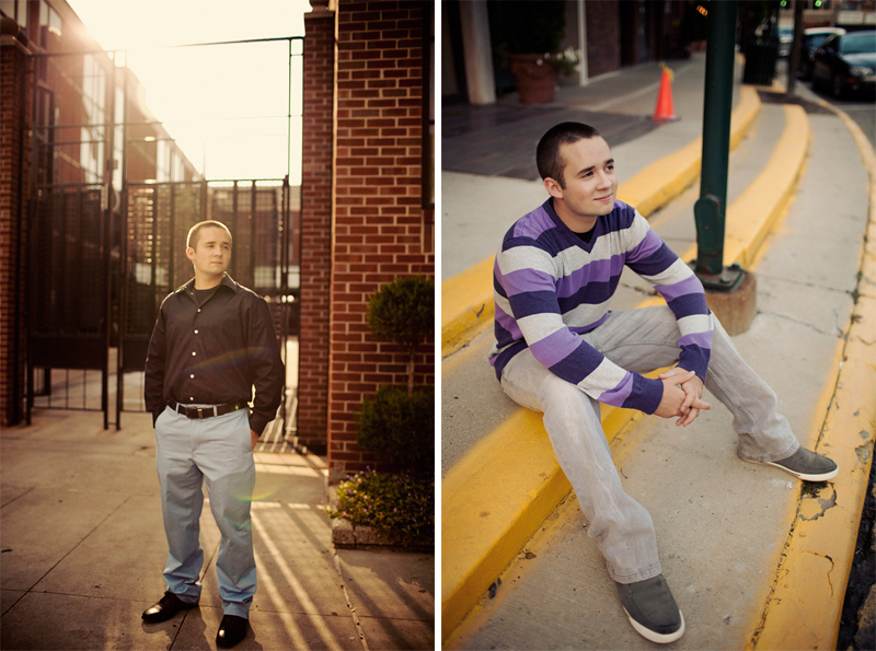 Guy Pose Ideas for Senior Portraits