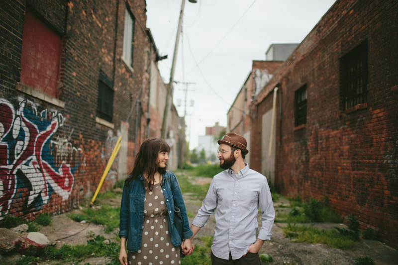Urban Engagement Portraits in Detroit Michigan
